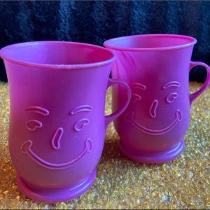 Pair of Vintage Kool-Aid Cups